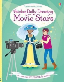 Sticker Dolly Dressing Movie Stars, Paperback / softback Book