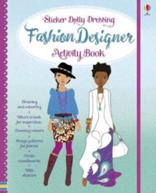 Sticker Dolly Dressing Fashion Activity Book, Hardback Book