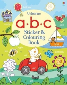 ABC Sticker and Colouring Book, Paperback Book