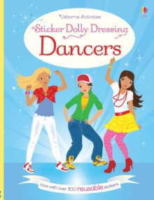 Sticker Dolly Dressing Dancers, Paperback / softback Book