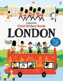 First Sticker Book London, Paperback Book