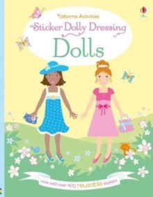 Sticker Dolly Dressing Dolls, Paperback Book