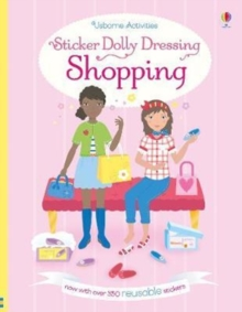 Sticker Dolly Dressing Shopping, Paperback Book