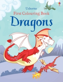 First Colouring Book Dragons, Paperback / softback Book