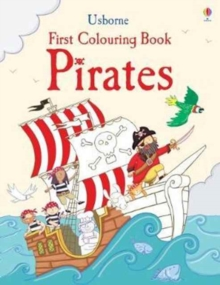 First Colouring Book Pirates, Paperback Book