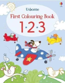 First Colouring Book 123, Paperback Book