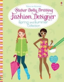 Sticker Dolly Dressing Fashion Designer Spring and Summer Collection, Paperback Book