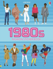 1980s Fashion Sticker Book, Paperback / softback Book