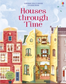 Houses through Time Sticker Book, Paperback Book