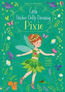 Little Sticker Dolly Dressing Pixies, Paperback Book