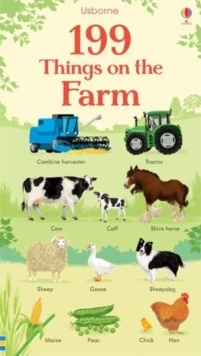 199 Things on the Farm, Board book Book