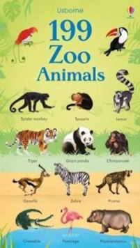 199 Zoo Animals, Board book Book
