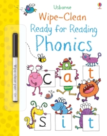 Wipe-Clean Ready for Reading Phonics, Paperback / softback Book