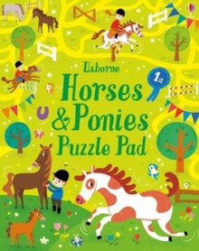 Horses and Ponies Puzzles Pad, Paperback / softback Book