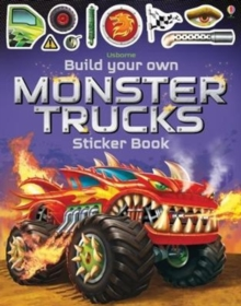 Build Your Own Monster Trucks Sticker Book, Paperback Book