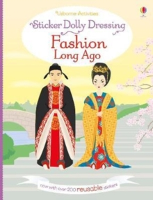 Sticker Dolly Dressing Fashion Long Ago, Paperback Book