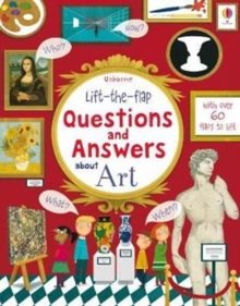 Lift the Flap Questions & Answers About Art, Board book Book
