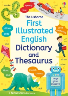 First Illustrated Dictionary and Thesaurus, Paperback Book