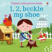 1, 2, Buckle my Shoe, Board book Book