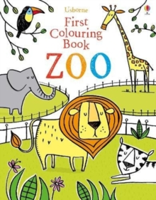 First Colouring Book Zoo, Paperback Book