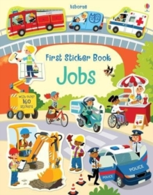 First Sticker Book Jobs, Paperback / softback Book