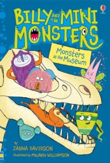 Billy and the Mini Monsters: Monsters at the Museum, Hardback Book