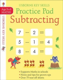 Subtracting Practice Pad 5-6, Paperback / softback Book