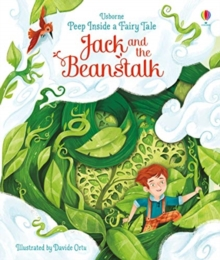 Peep Inside a Fairy Tale Jack and the Beanstalk, Board book Book