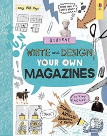 Write and Design Your Own Magazines, Spiral bound Book