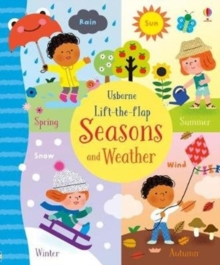 Lift-the-Flap Seasons and Weather, Board book Book