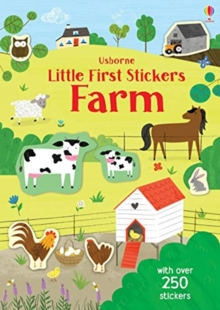 Little First Stickers Farm, Paperback / softback Book