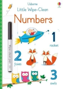 Little Wipe-Clean Numbers, Paperback / softback Book