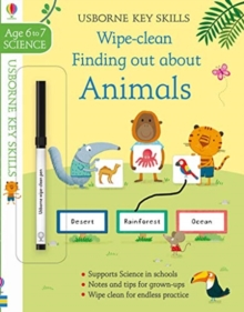 Wipe-Clean Finding Out About Animals 6-7, Paperback / softback Book