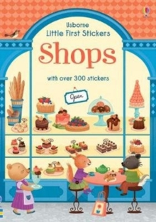 Little First Stickers Shops, Paperback / softback Book