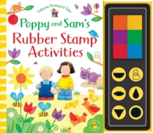 Poppy and Sam's Rubber Stamp Activities, Spiral bound Book