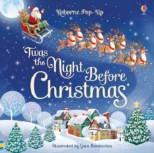 Pop-Up 'Twas The Night Before Christmas, Board book Book