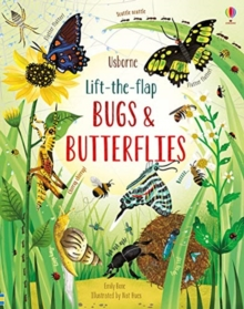 Lift-the-Flap Bugs and Butterflies, Board book Book
