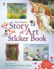 Story of Art Sticker Book, Paperback / softback Book