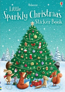 Sparkly Christmas Sticker Book, Paperback / softback Book