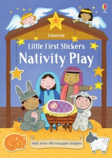 Little First Stickers Nativity Play, Paperback / softback Book