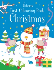 First Colouring Book Christmas, Paperback / softback Book