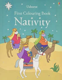 First Colouring Book Nativity, Paperback / softback Book