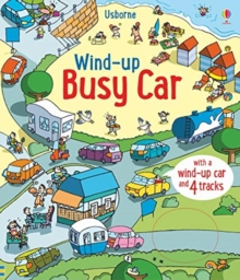 Wind-Up Busy Car, Board book Book