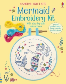 Embroidery Kit: Mermaid, Mixed media product Book