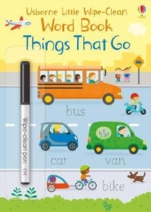 Things That Go, Paperback / softback Book