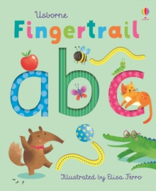 Fingertrail ABC, Board book Book