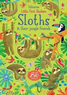 Little First Stickers Sloths, Paperback / softback Book