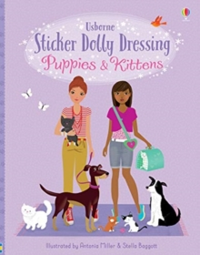 Sticker Dolly Dressing Puppies and Kittens, Paperback / softback Book