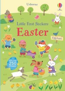 Little First Stickers Easter, Paperback / softback Book
