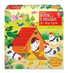 Book and 3 Jigsaws: On the Farm, Board book Book